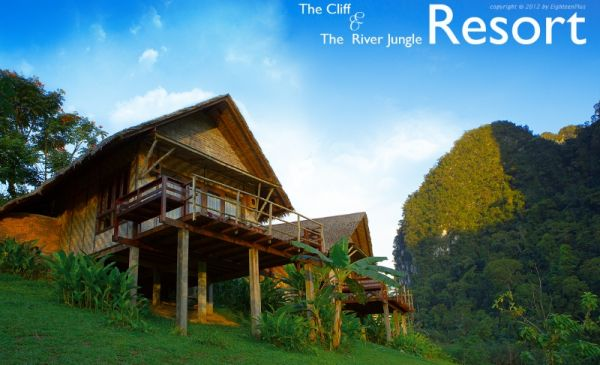 Khao Sok: The Cliff and River Jungle Resort