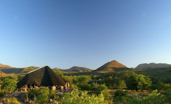 Damaraland: Huab Lodge = gesloten