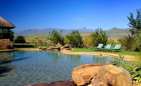 Drakensbergen: Montusi Mountain Lodge