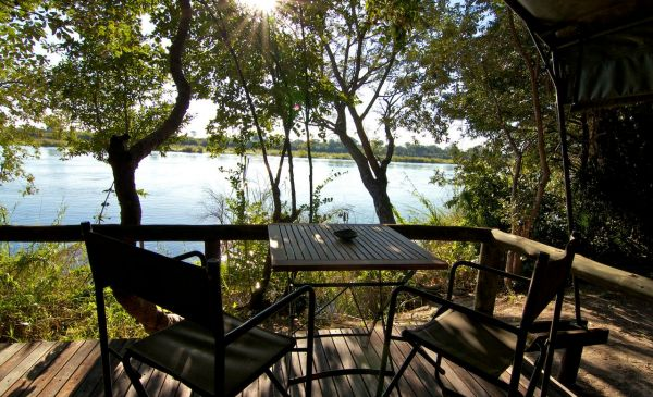 Popa Falls: Ndhovu Safari Lodge