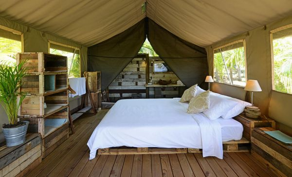 Belle Mare: Otentic Eco Tent Experience