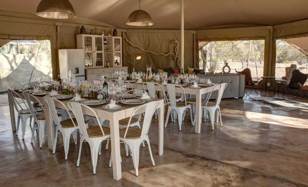 Damaraland: Malansrus Tented Camp