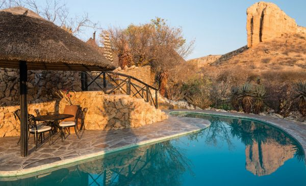 Damaraland: Vingerklip Lodge